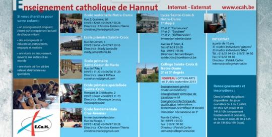Enseignement catholique de Hannut